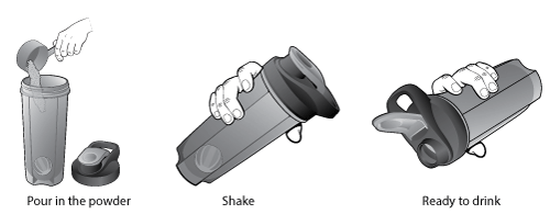 Shake Go Fit Mixer Bottle